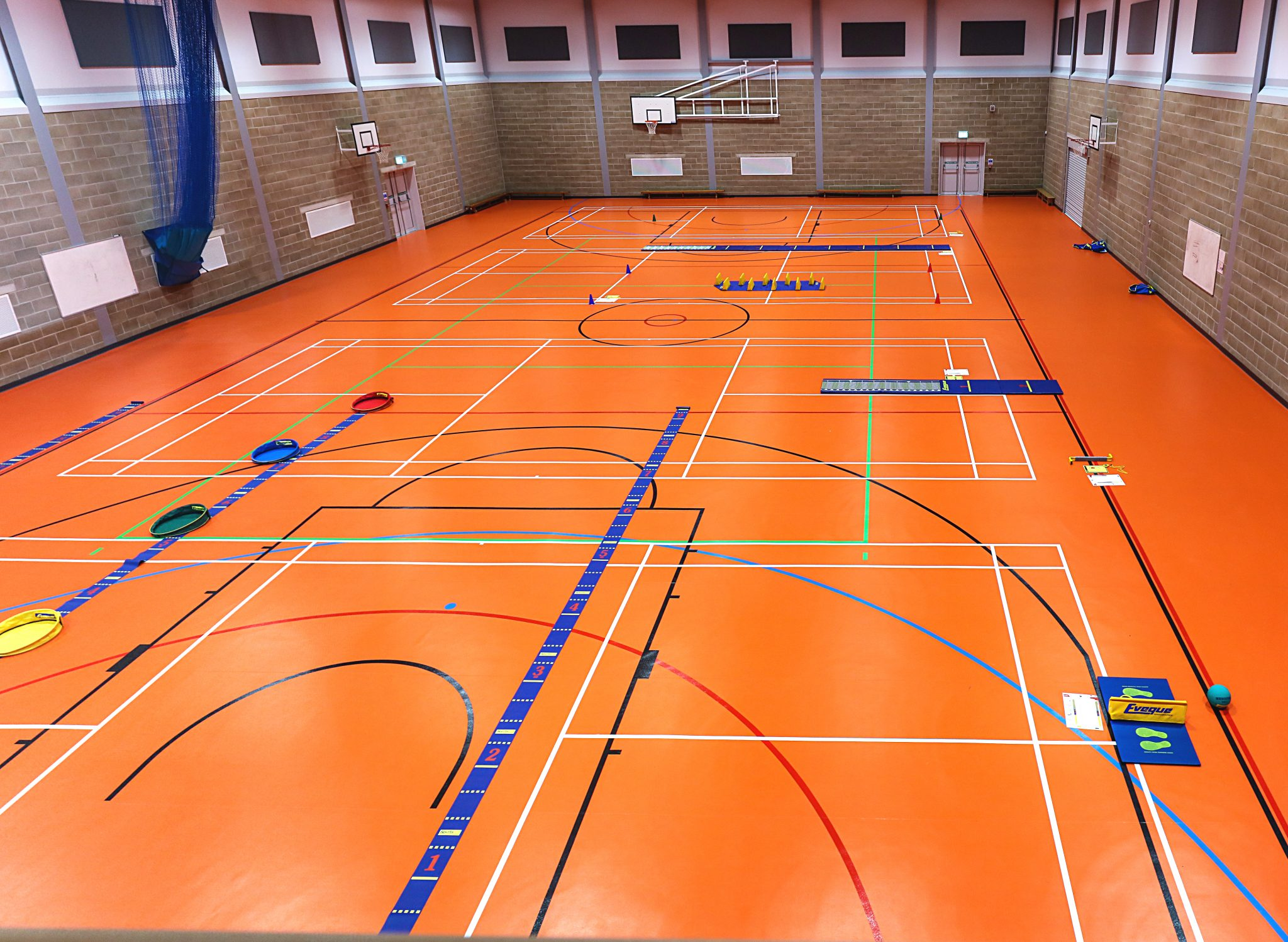 Skyliner Sports Centre Gerflor Sports Flooring