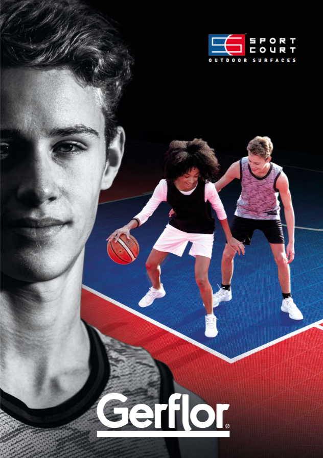POWERGAME PLUS BROCHURE SPORT COURT - cover
