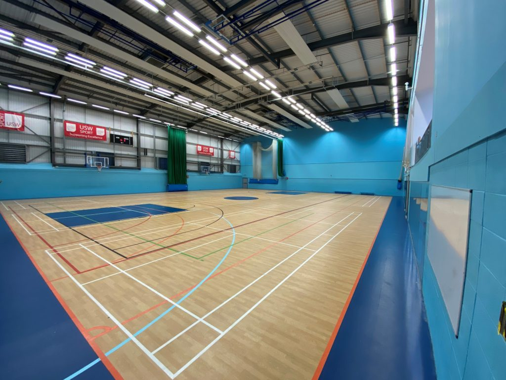 Gerflor - University Of South Wales - Sports Flooring